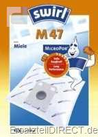 Swirl Staubsaugerbeutel M47 / MicroPor (Miele)