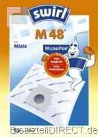 Swirl Staubsaugerbeutel M48 / Micro Por (Miele)