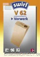 Swirl Staubsaugerbeutel V62 (Vorwerk Kobold Foleto