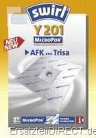 Swirl Staubsaugerbeutel Y201 MicroPor (AFK Daewoo)